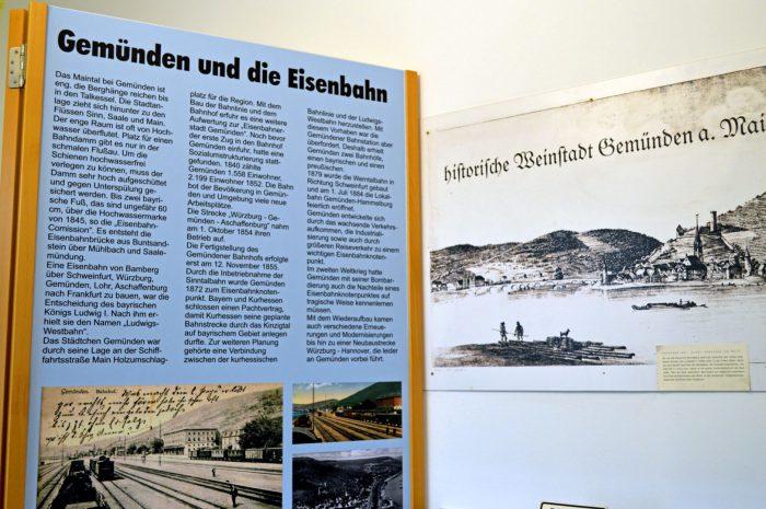 Gemünden die Eisenbahner- und Weinstadt