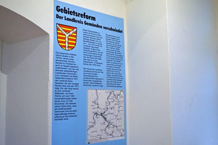Gebietsreform 1972 im Landkreis Gemünden