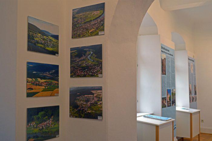 1. Teil der Luftbilder der Stadtteile der Stadtteile von Gemünden