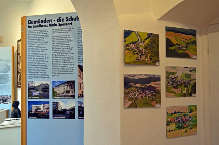2. Teil der Luftbilder der Stadtteile der Stadtteile von Gemünden