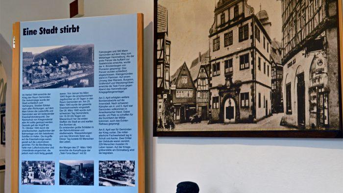 Zerstörung der Stadt im 2. Weltkrieg