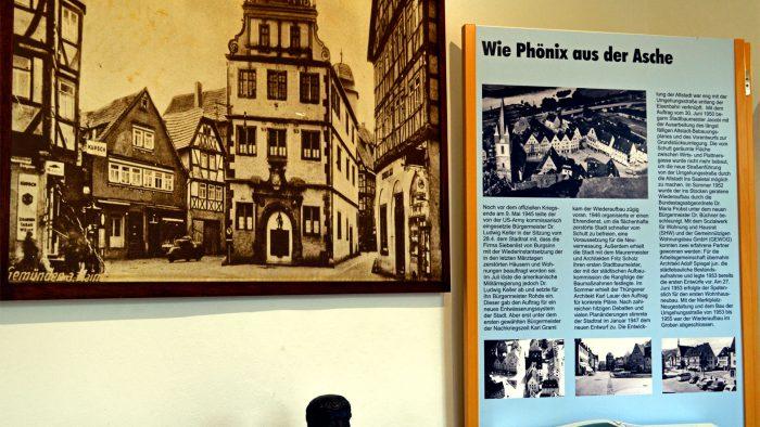 Wiederaufbau der Stadt nach dem 2. Weltkrieg